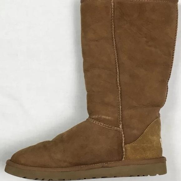 ugg shoes boots tall tan 5815 poshmark rh poshmark com